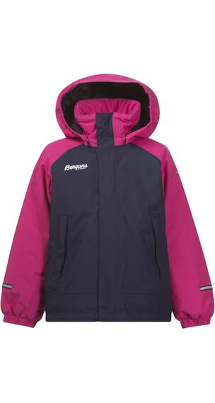 Bergans Kids Storm Insulated Jacket Hot Pink/Navy